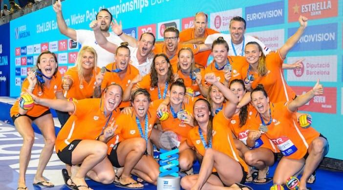 Oranjedames Europees Kampioen 2018